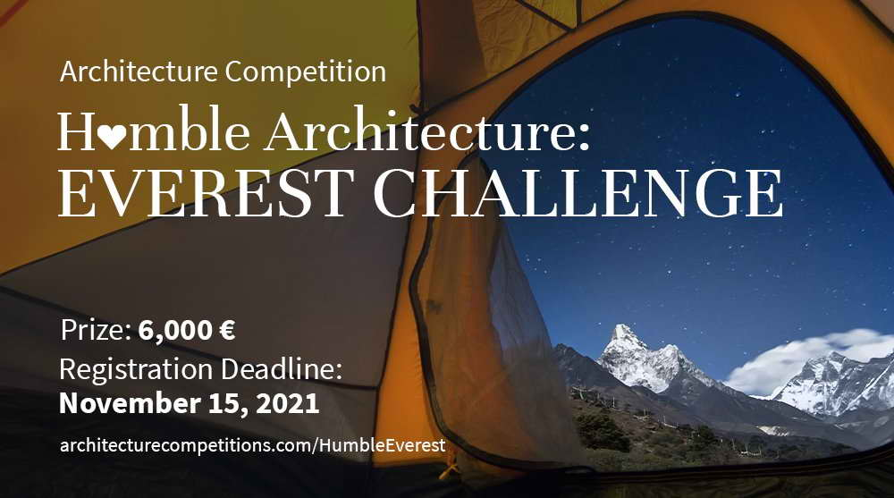 Скромная архитектура: вызов Эвереста, 2021