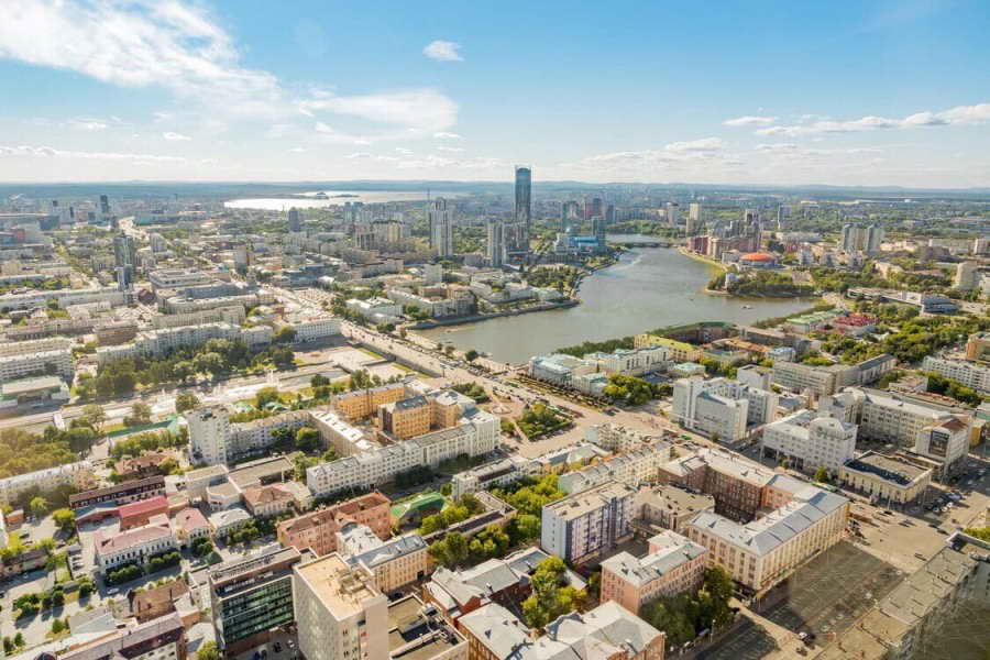 «Конкурс на разработку концепции Городского пруда в Екатеринбурге», Россия, 2021