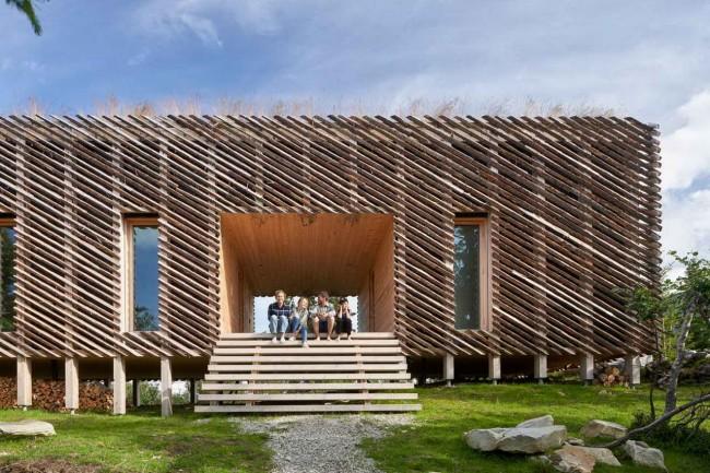 Хижина архитекторов в Норвегии
