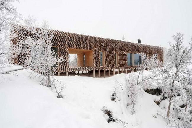 Дом архитекторов зимой