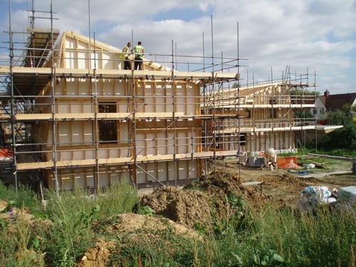 строительство поселка в Эмсвилле