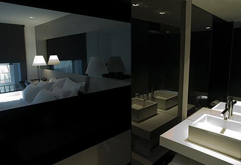 интерьер ванной в гостинице Fontana Park Hotel, Лиссабон, Португалия, дизайн Atelier Nini Andrade Silva. 2 место в номинации.