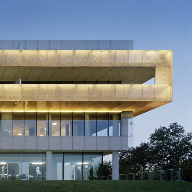 Дом Швеции - здание шведского посольства в Вашингтоне, архитектор Герт Вигард (Gert Wingårdh)