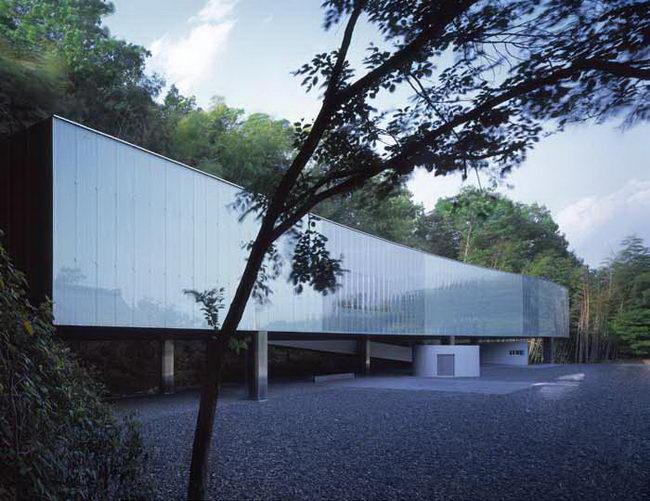 музей в Нагано, архитектурное проектирование Казуо Седжима и Рю Нишизава (Kazuyo Sejima, Ryue Nishizawa)