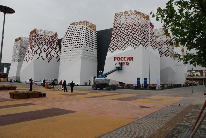 павильон России на выставке Экспо в Шанхае, общий вид