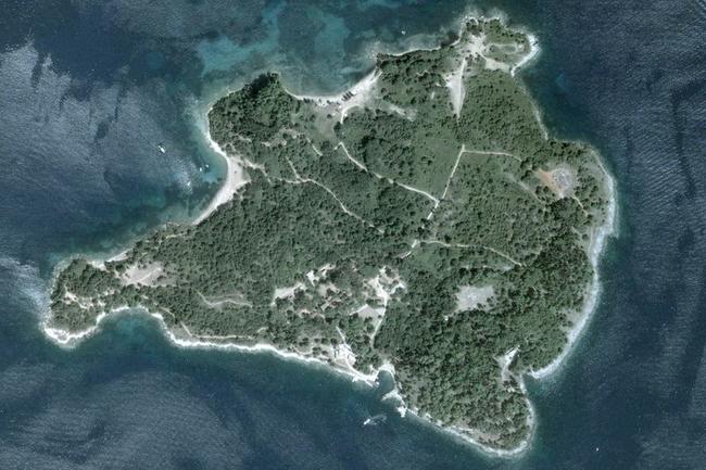 генеральный план острова Видо