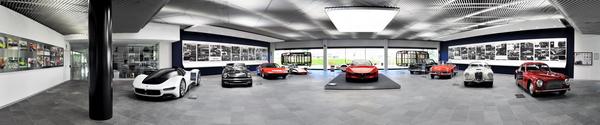 автомобильный дизайн от Pininfarina, панорамное фото