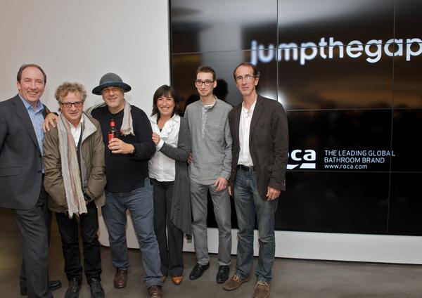 Алан Доддс, жюри с Роном Арадом, Хавьером Марискалем, Хосе Конгостом и победитель конкурса Михаль Варикиевич