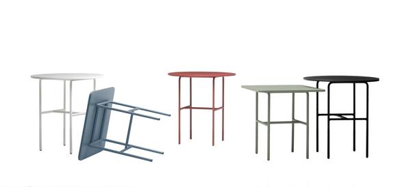 столы с круглой или квадратной столешницей, линия Candy Table, дизайн Sylvain Willenz для Каппеллини