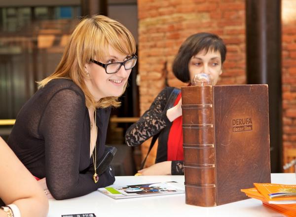 Ксения Бандорина и Наталия Шустрова на презентации трендбука