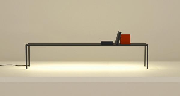 книжная полка с LED