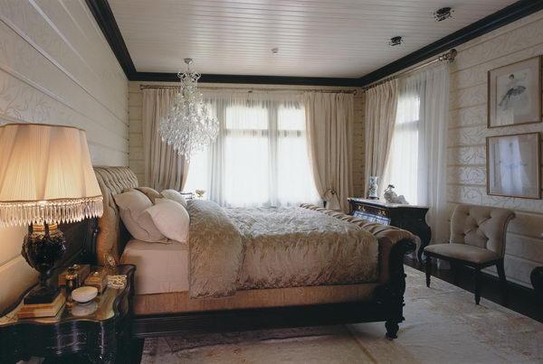 хозяйская спальня на втором этаже