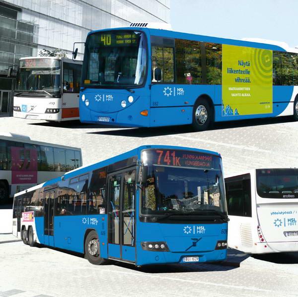 обновленный дизайн автобуса для Хельсинки от Reijo Markku