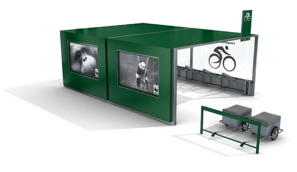 экологичная велопраковка для Хельсинки от Reform