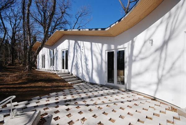 внутренний двор индивидуального жилого дома, ателье bow-wow
