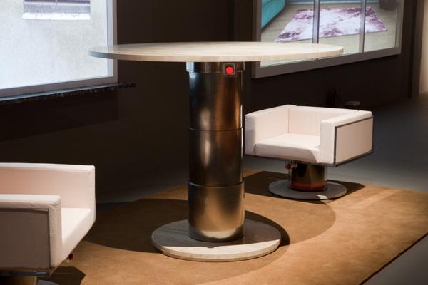 стол с креслами, линия Инструменты для жизни, Рем Колхас
