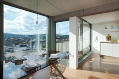 интерьер квартиры в многоэтажном комплексе Парк Хилл