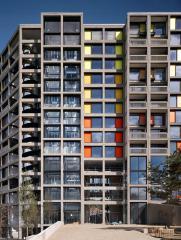 многоэтажный комплекс Парк Хилл, архитектурное проектирование и интерьеры Howkins/Brown и Studio Egret West