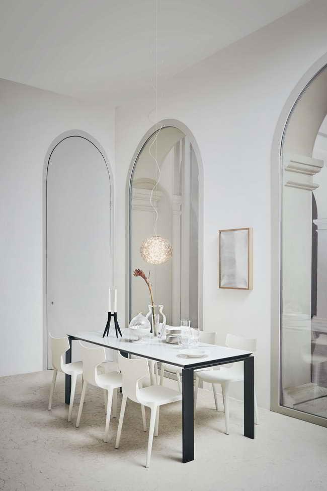 стулья Re-chair в интерьере столовой