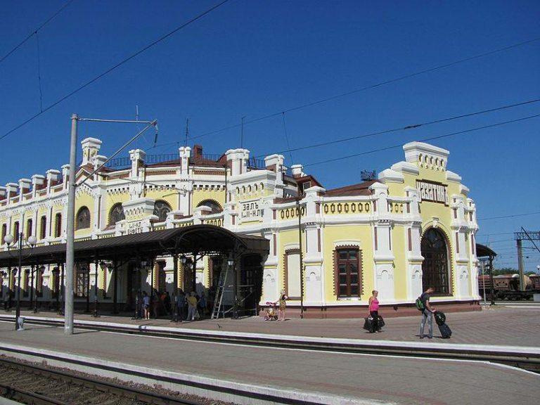 здание Казатинского вокзала, современное фото