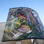 Восстановление мозаики времени ГДР в Эрфурте