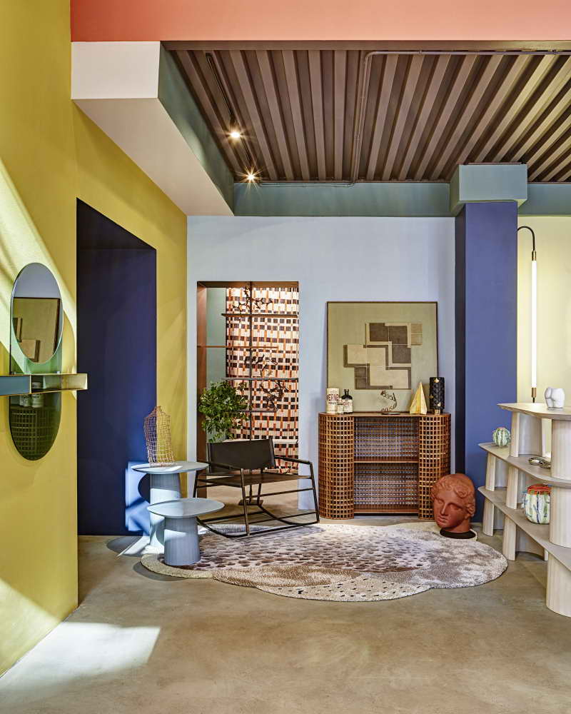 интерьер гостиной в Палермоуно