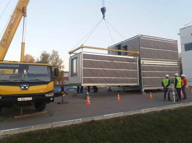 строительство модульной гостиницы в Ступино