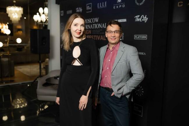 Диана Балашова и Тимур Газиев на кинофестивале дизайна