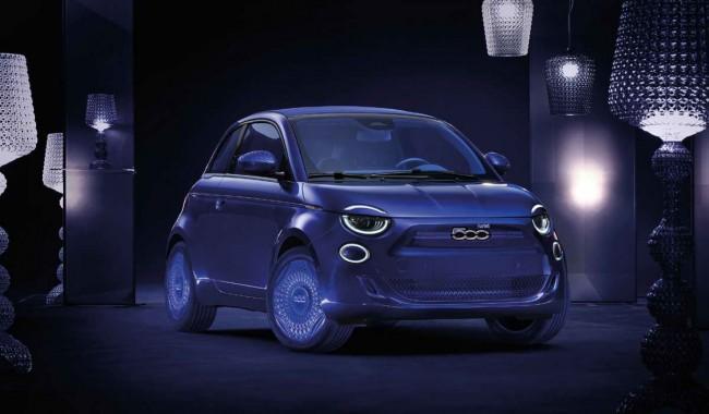 Новый электромобиль Fiat 500 Kartell