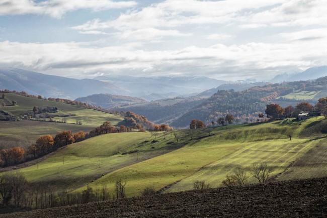 итальянские поля, фото Субиссати