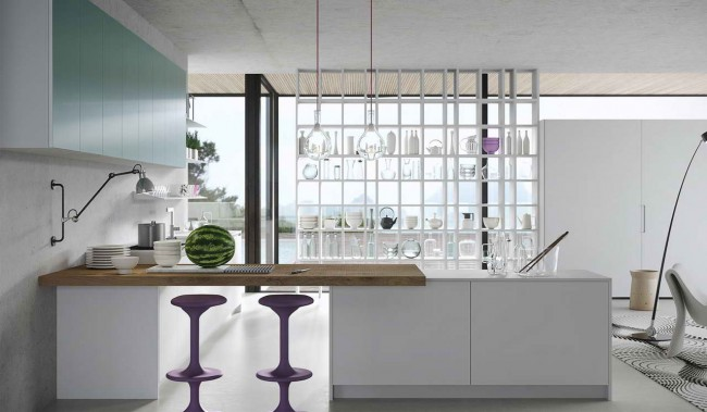 кухня Karan, дизайн  Karim Rashid для Rastelli