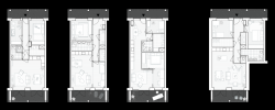дом Root, планировки квартир