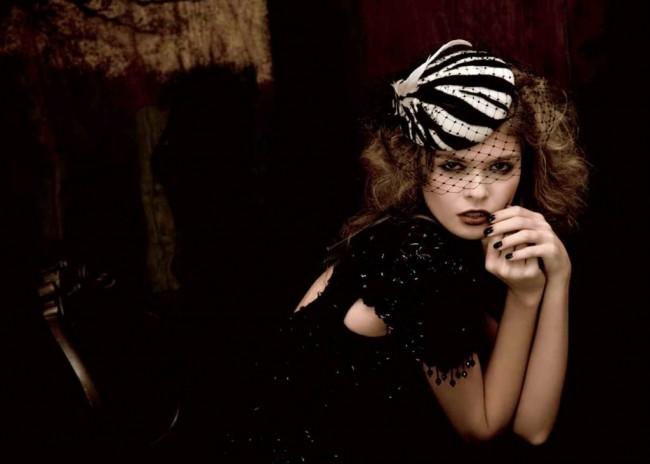 шляпка Лолита от Marzi