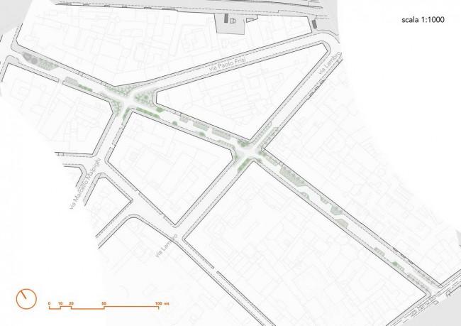 мастер-план улицы Melzo
