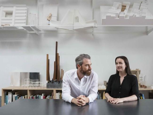 Натан Рич и Мириам Петерсон в своей студии
