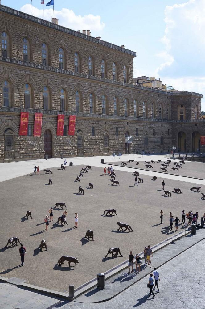 площадь Palazzo Pitti