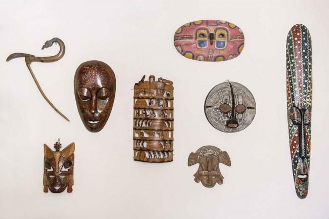 коллекция этнических масок