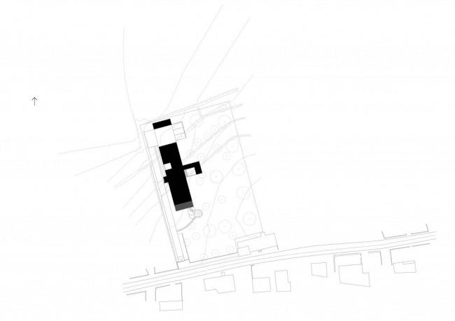 план собственного дома архитектора Filipe Saraiva