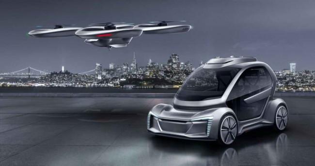 концепт транспорта будущего Pop Up