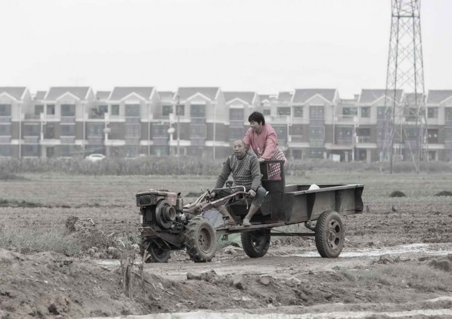 фермеры в Zhongmu