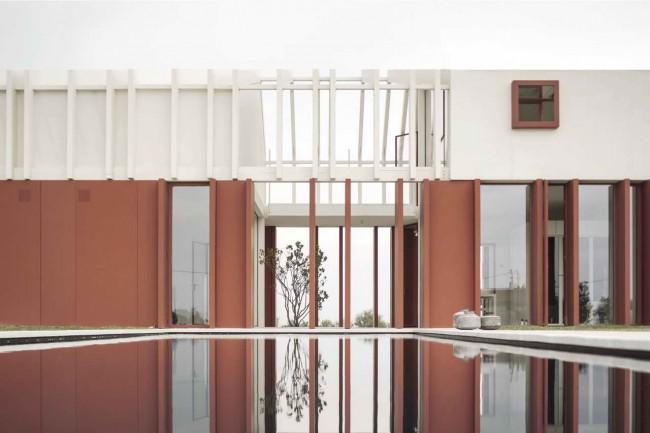бассейн у дома, Casa di Confine