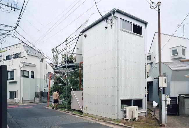 дом Suzuko Yamada, вид с улицы