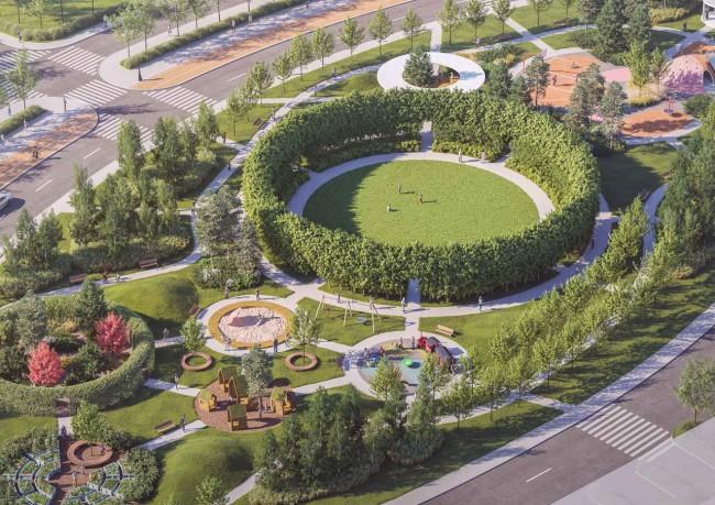 большая детская площадка в Доброграде