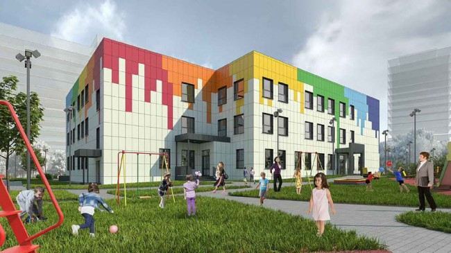 здание нового детского сада в Солнечногорске
