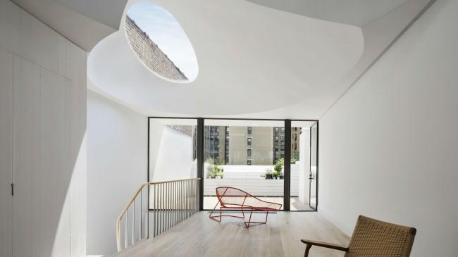 интерьер дома Окули от O' Neill Rose Architects
