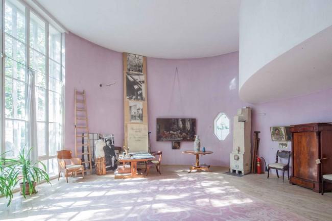 интерьер дома Мельникова
