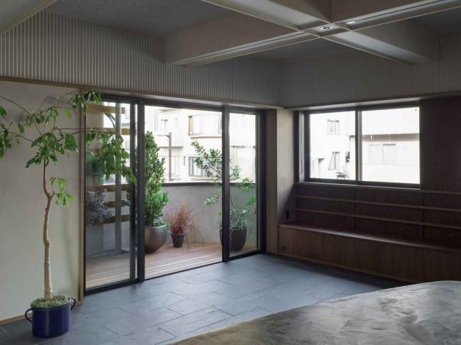 дверь в пол на балкон
