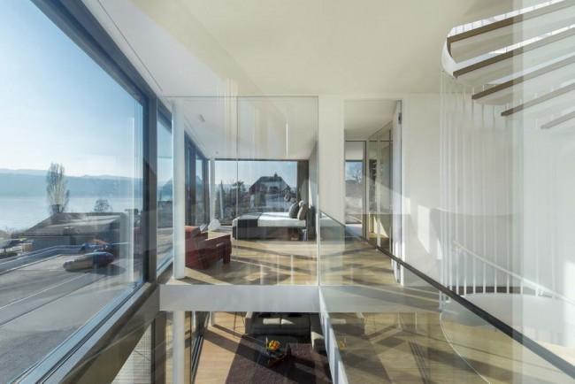интерьер дома: двухсветное пространство
