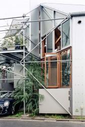 фасад с гаражом