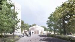 Мастерская Henning Larsen Architects проектирует новую церковь